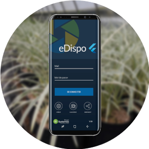 Application eDispo pour la gestion du disponible horticole